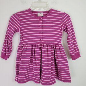Hanna Andersson Striped Cotton Dress